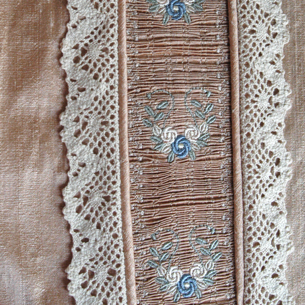 More about machine embroidered smocking panels | graceful threads of